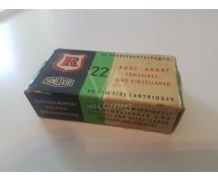 Caja munición .22 Corto
